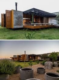 Interieur Aus Holz Und Beton Haus Bilder Dieses Haus Ist Ein Warmes Display Aus Holz Beton Stein Und