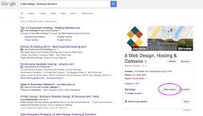 review us on google 8 web design