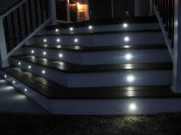 outdoor led deck lighting kits cool outdoor led lights for decks