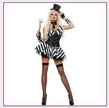 Black White Striped Halloween Costume Cheap Magician Costumes Aliexpress Alibaba Group