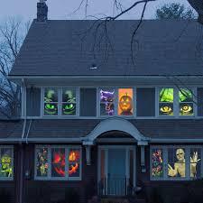 light o rama halloween halloween window posters window poster halloween window and