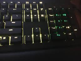 razer blackwidow chroma lights not working razer insider forum razer blackwidow chroma v2 issue