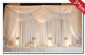 wedding backdrop curtains 3 6m wedding decoration backdrop with swags wedding banquet