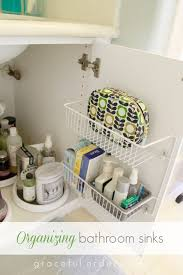 Sink Storage Bathroom 15 Ways To Organize The Bathroom Sink