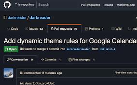 google themes lights dark reader chrome web store