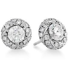 stud earrings atlantico pave stud earrings