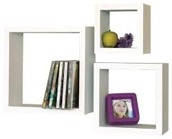 white cube shelf modern display and wall shelves los angeles cube