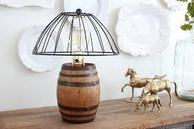 wire cage l shade l shades seattle diy reclaimed barrel wire cage lshade the