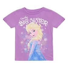 amazon disney u0027s frozen elsa u0027m big sister shirt clothing