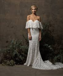 boho wedding dress off the shoulder popular wedding dress 2017