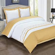 Gold Duvet Set 5 White And Gold Duvet Cover Sets Which Ooze Elegance Sleepy Deep