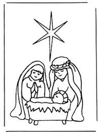 printable nativity scene coloring pages kids cool2bkids