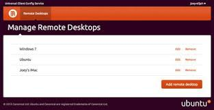 bureau distance ubuntu ubuntu 12 10 facilitera l accès au bureau à distance