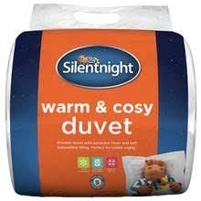 Silent Night 7 5 Tog Duvet Buy Slumberdown Warm As Toast 13 5 Tog Duvet Double At Argos Co