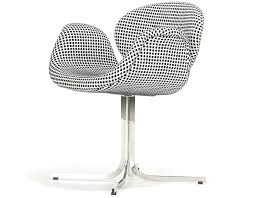 little tulip chair with cross base hivemodern com
