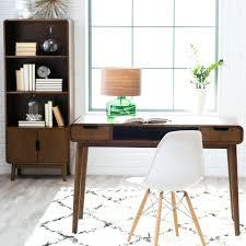 Retro Modern Desk Decoration Retro Modern Desk Living Mid Century Writing