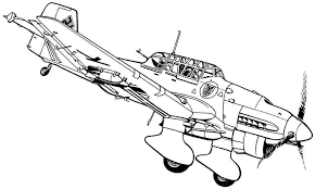 airplane art clipartsco coloring pages airplanes military