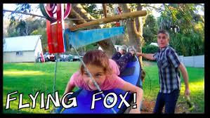 make a zipline or flying fox at home u2013 make science fun youtube