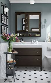 Ikea Hemnes Bathroom Vanity A Traditional Approach To A Tidy Bathroom The Ikea Hemnes
