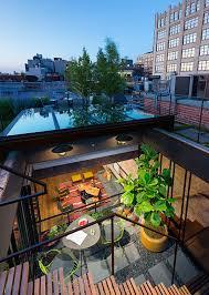 Tribeca Loft Tribeca Loft Architecture Interiors Terrace Green Roof