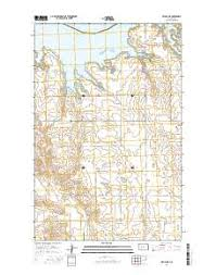 beulah dakota map beulah bay topo map in mercer county dakota