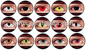 halloween crazy cosmetic color contact lenses vampire halloween