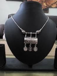 metal necklace designs images Designer silk thread nacklace black metal necklace manufacturer jpg