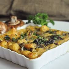 sausage and mushroom breakfast strata foods of our lives