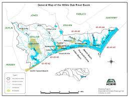 Ces Map Onslow Water Quality Monitoring Program North Carolina