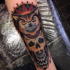 Owl Tattoos - best 25 traditional owl tattoos ideas on bright