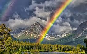 real full rainbows wallpaper
