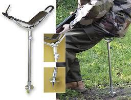 canne siege telescopique стульчик раскладушка для охоты и рыбалки canne siege