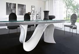 tavoli design cristallo tavoli cristallo moderni tavoli allungabili da cucina moderni