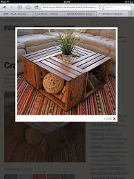 Wine Crate Coffee Table Diy by 44 Best Scaffold Board Stuff Images On Pinterest Diy Furniture