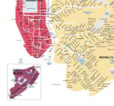 Wall Map Of New York City by Map Of New York City Subway Wall Map Art Print The Pixel Prince