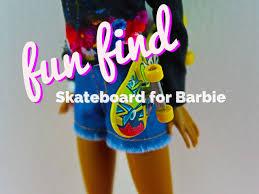 Flying Tiger Store Fun Find Finger Skateboard Skateboard For Barbie Doll Flying