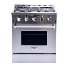 30 Inch Downdraft Gas Cooktop Samsung 30 In 5 8 Cu Ft Slide In Gas Range With Self Cleaning