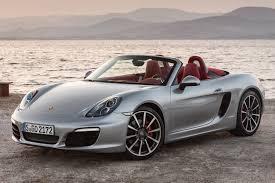 Porsche Boxster Lowered - first drive 2013 porsche boxster automobile magazine