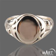monogram ring personalized monogram ring oval initial letter ring vintage