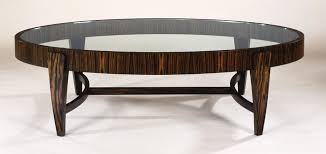 oval wood coffee tables