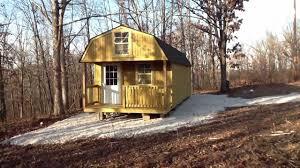 Derksen Portable Finished Cabins At Enterprise Center Youtube Cabin Build 02 Youtube
