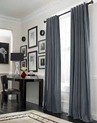 Modern Curtain Designs For Bedrooms Ideas Cool Grey Curtain Ideas For Large Windows Modern Home Office Table