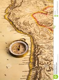 Ancient Map Ancient Map And Compass Stock Images Image 25551834