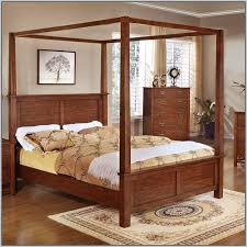 king size canopy bed frame canada bedding home decorating