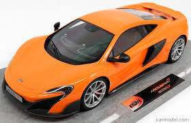 orange mclaren bbr models bbrc1814b scale 1 18 mclaren 675lt 2015 orange mclaren