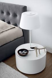 bedroom nightstand nightstand with charging station simple