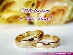 voeux de bonheur mariage félicitations pour le mariage de hasnae page 1