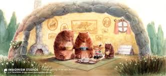 thanksgiving with the bears by imaginism on deviantart