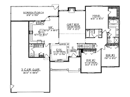 Luxury Ranch Floor Plans Ann Arbor Luxury Ranch Home Plan 051d 0033 House Plans And More