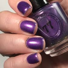 muted purple seventy seven nail lacquer polish pickup september 2017 snacks